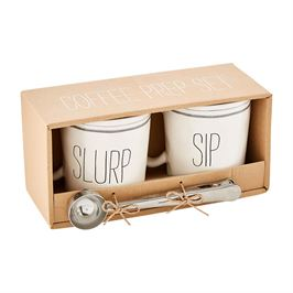 Boxed Coffee Prep Set