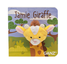 Load image into Gallery viewer, Giraffee Puppet Board Book