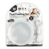 Bumkins First feeding set- Marble