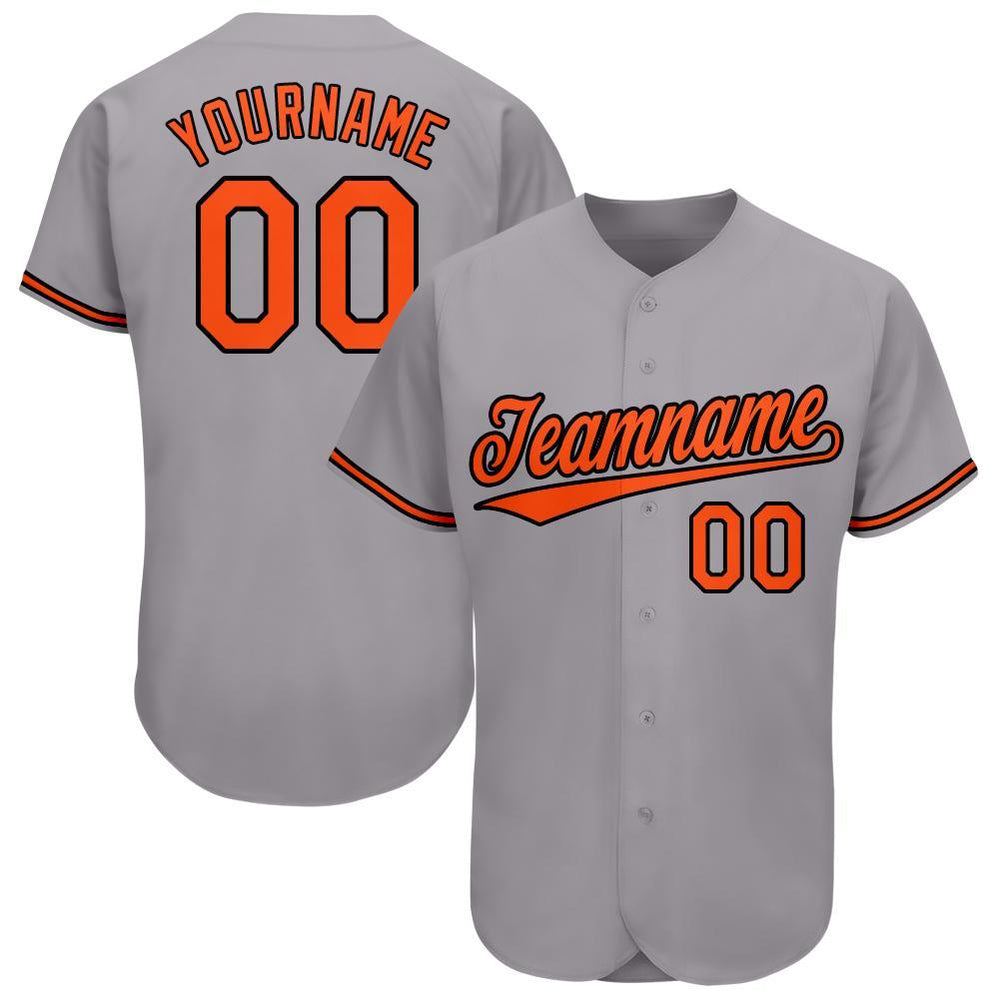 Custom Baltimore Gray Team Baseball Jersey