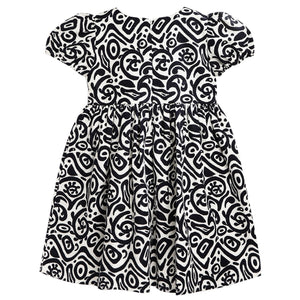 Psychedelic Dress for  Girls