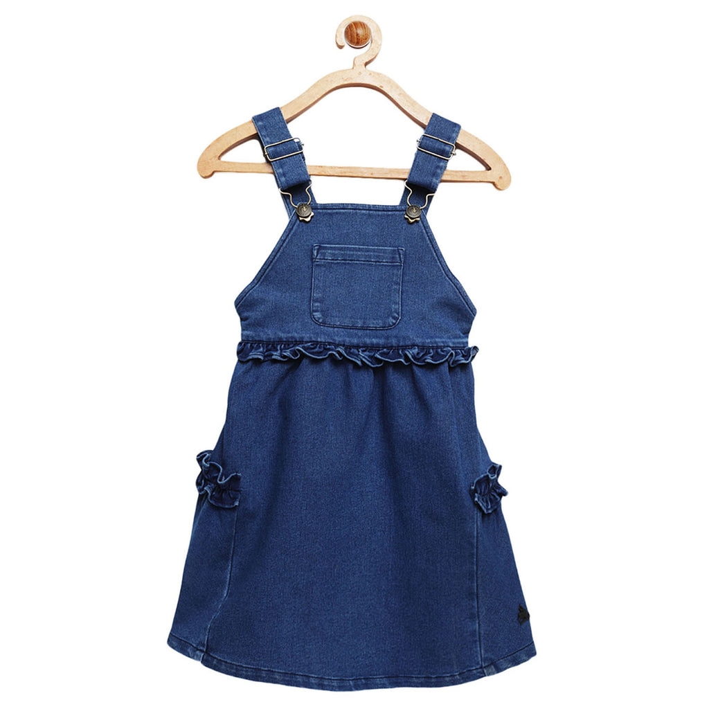 Denim Pinafore Dress for Boys & Girls