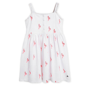 flamingo-embroidered-dress