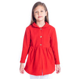 Red Coat  For Girls