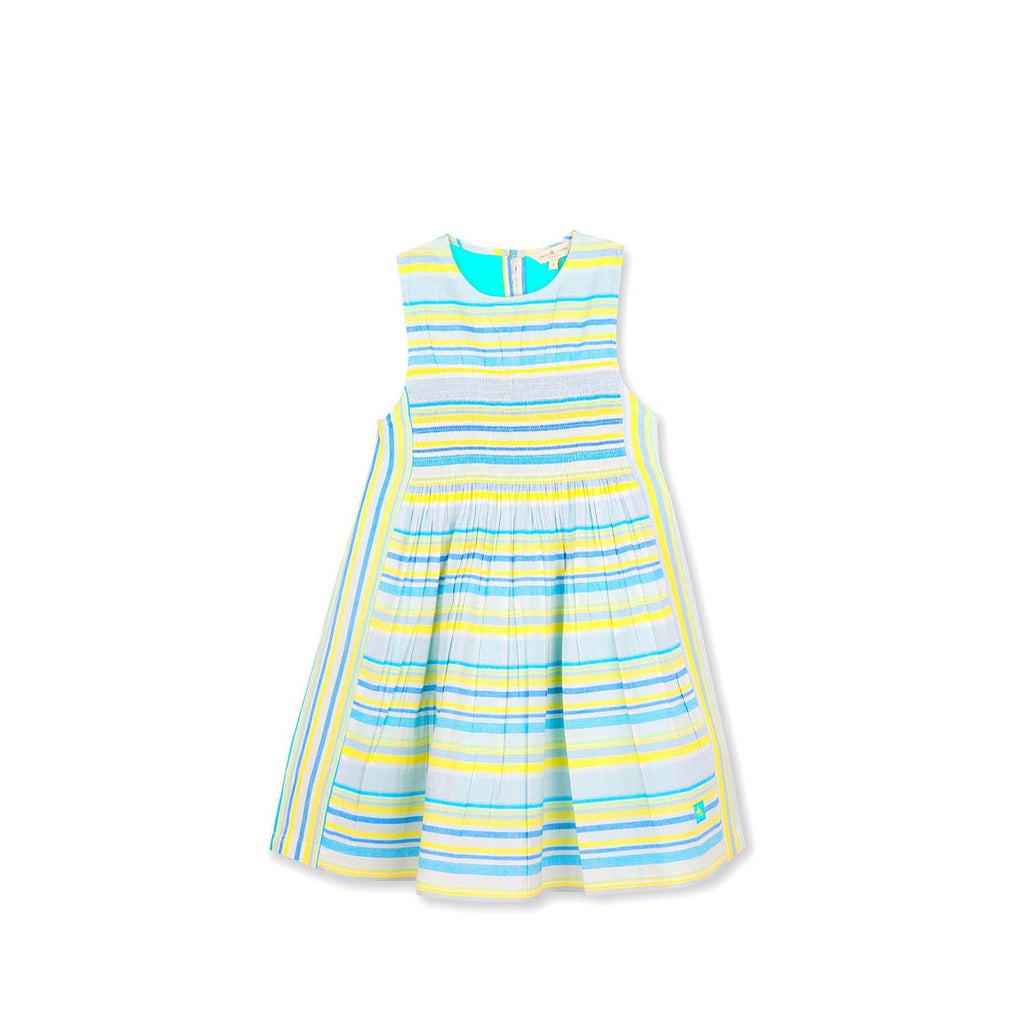 Soft Cotton Smocked Dress for Girls