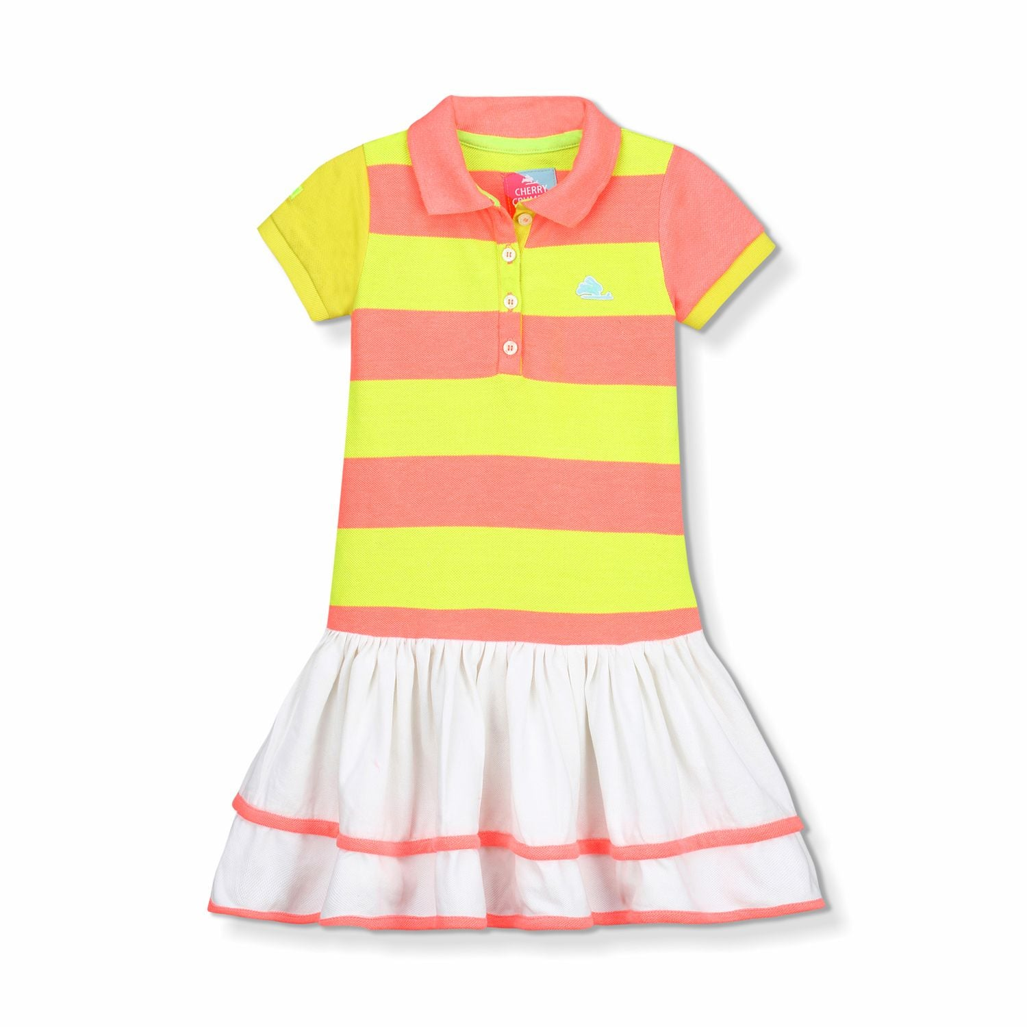 Bright Polo Dress for Girls