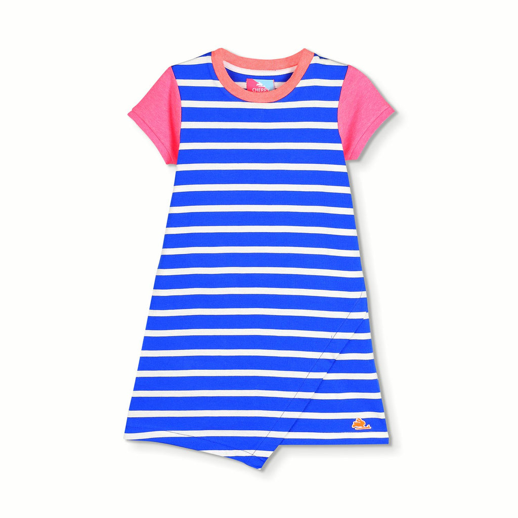 Stripy Garden Dress for Girls