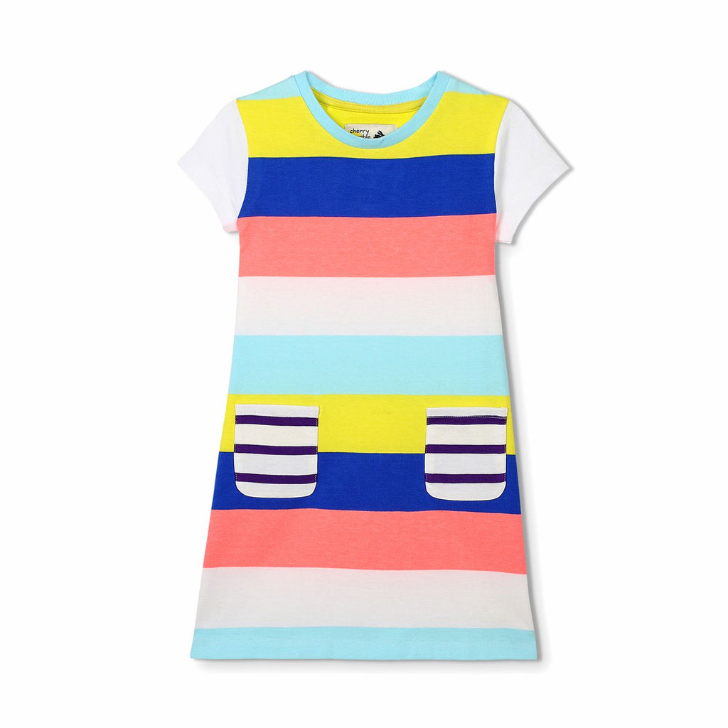 Hotchpotch Stripe Dress for Girls