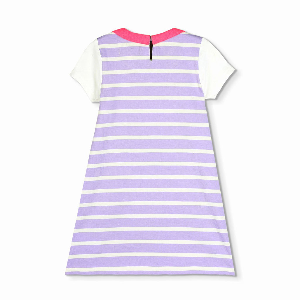 Polished Stripe dress for Girls