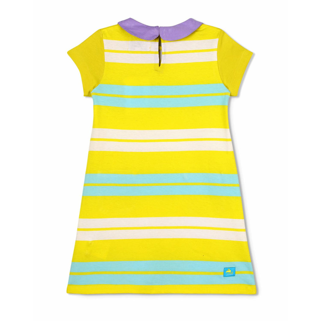 Supersoft Stripe Dress for Girls
