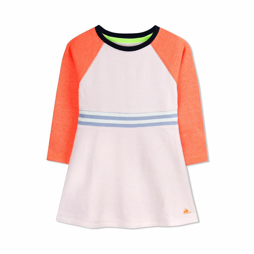 Stripe Rib Dress for Girls