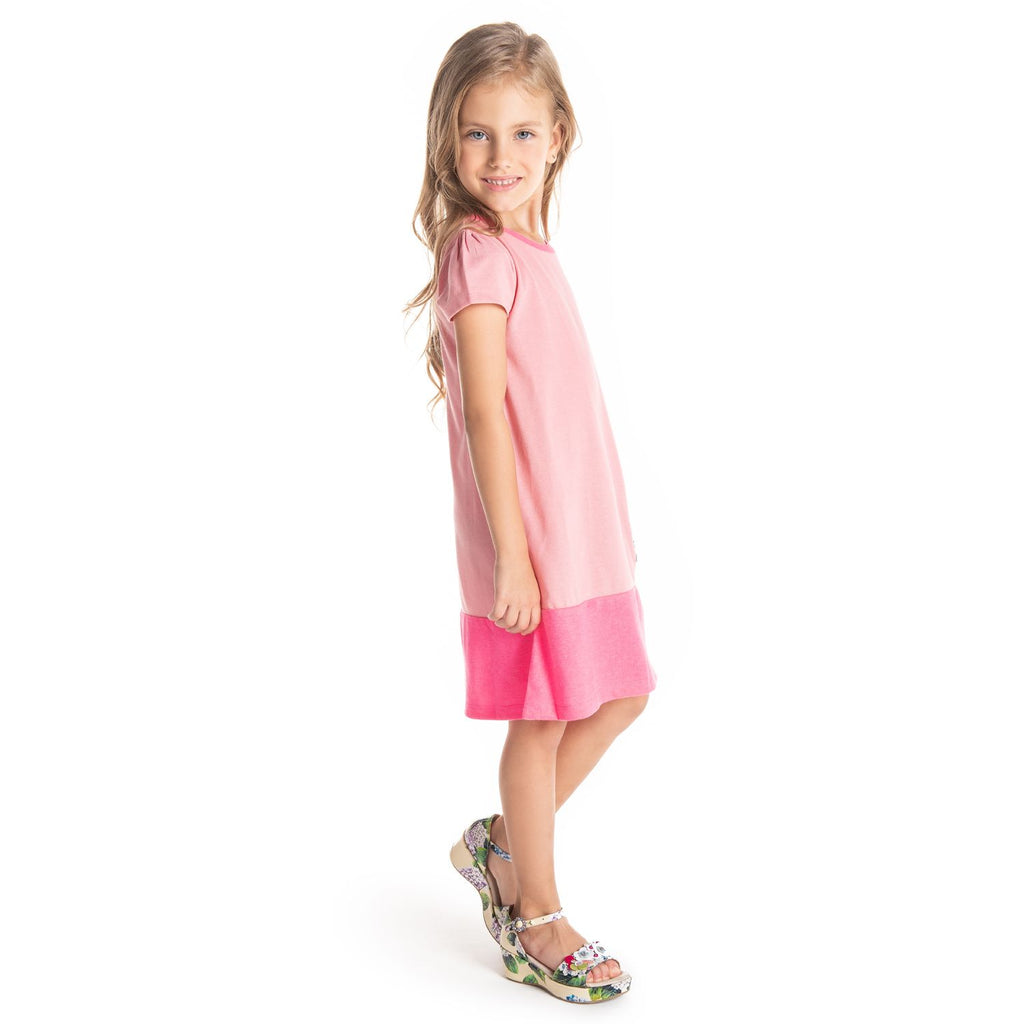 Thorns Applique Dress for Girls