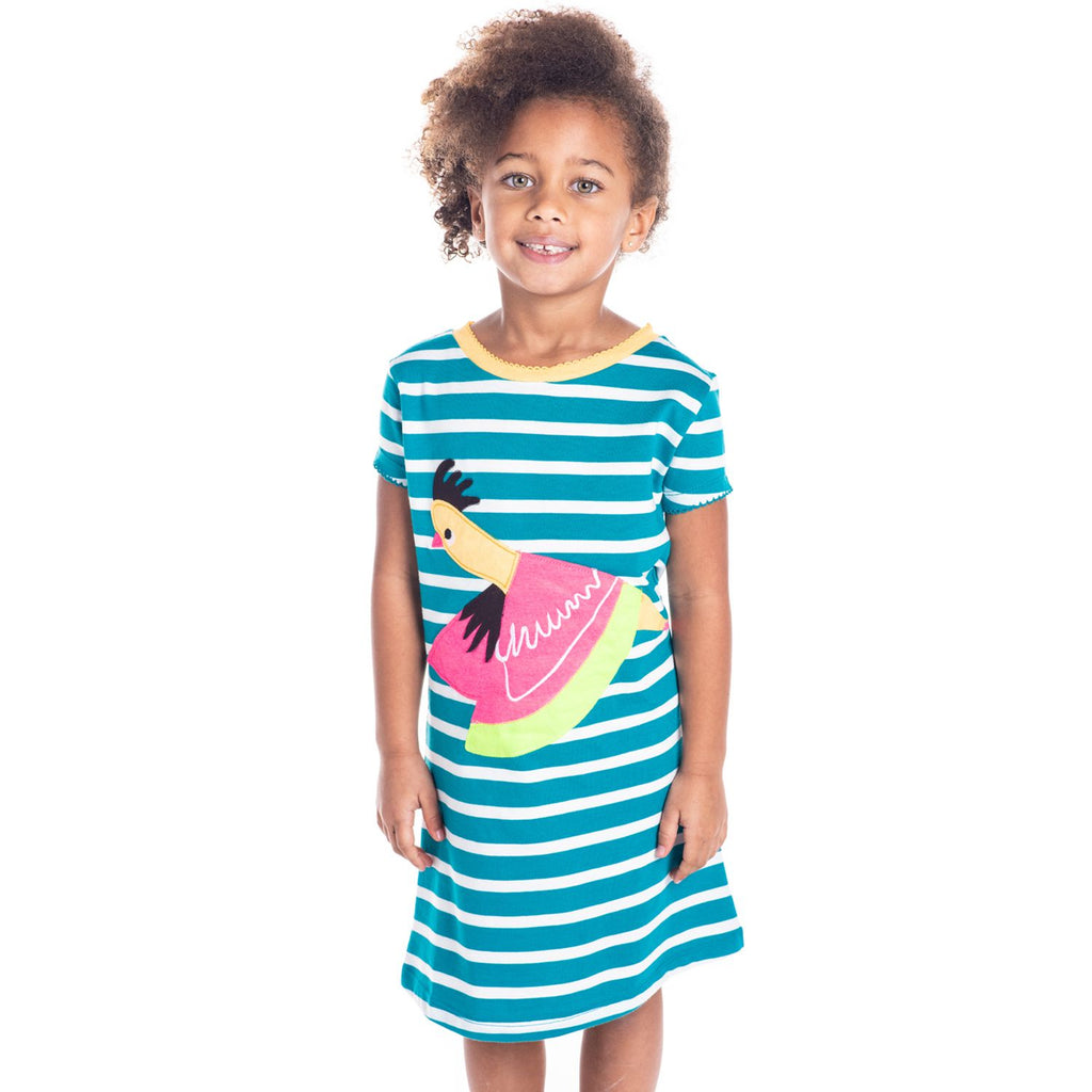 Queen Applique Dress for Girls