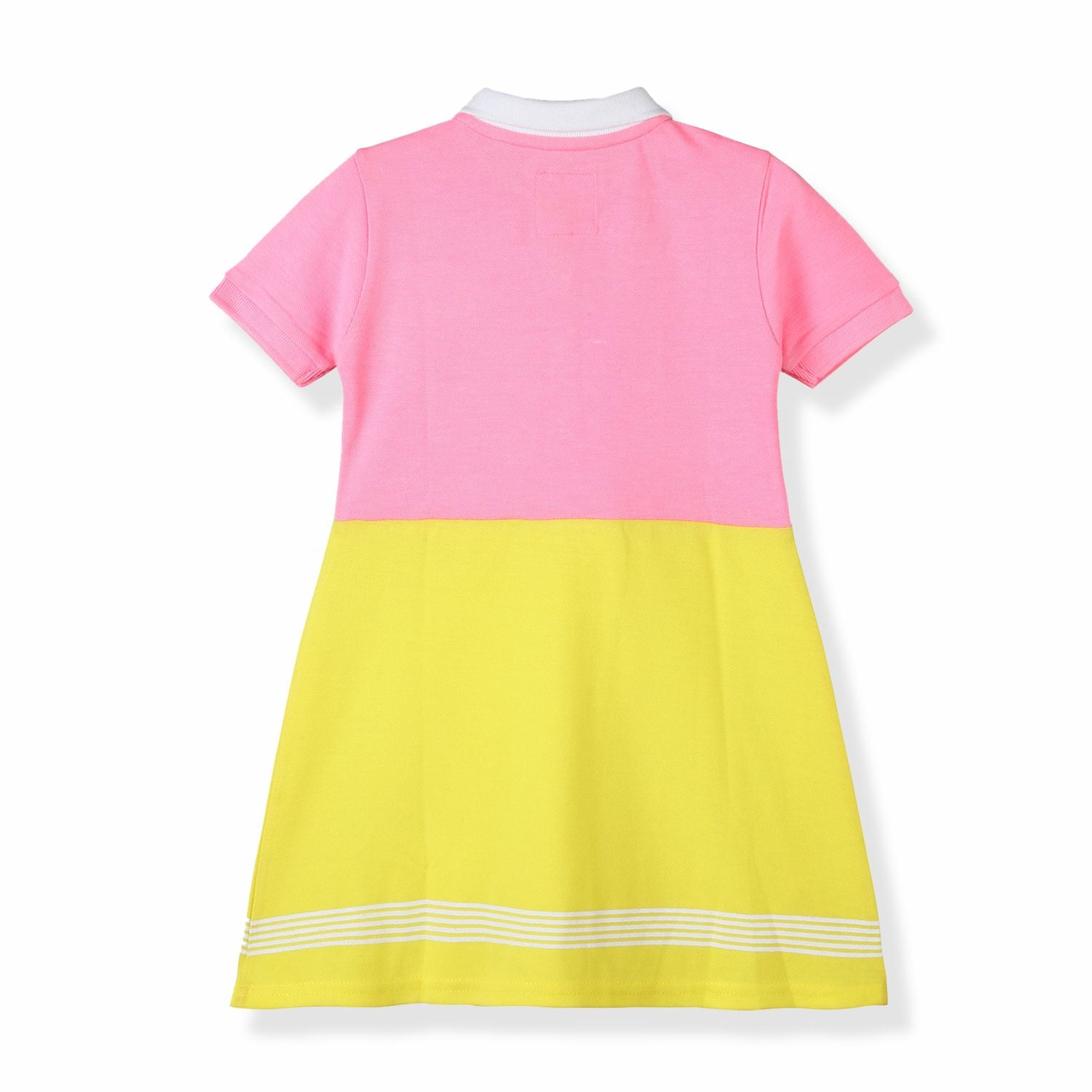 Mesh Stripy Dress for Girls