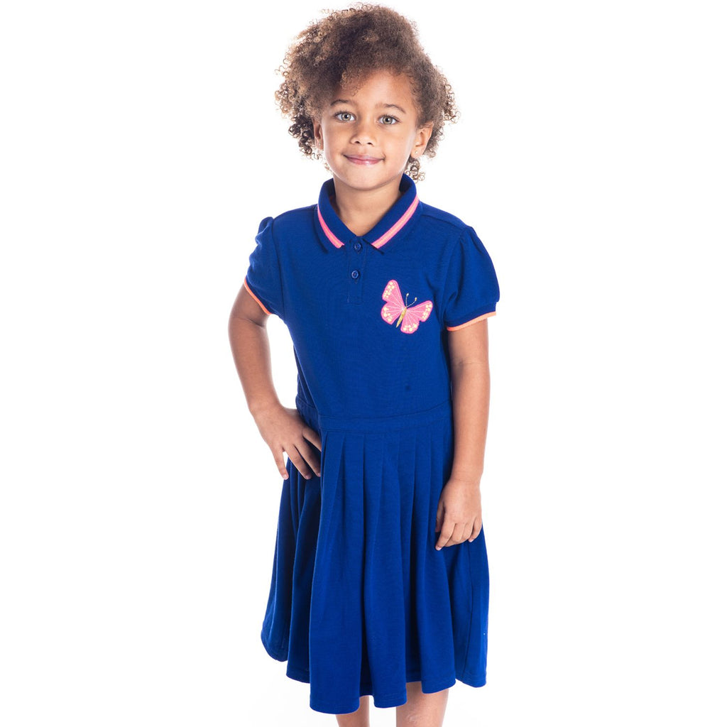 Butterfly Polo Dress for Girls
