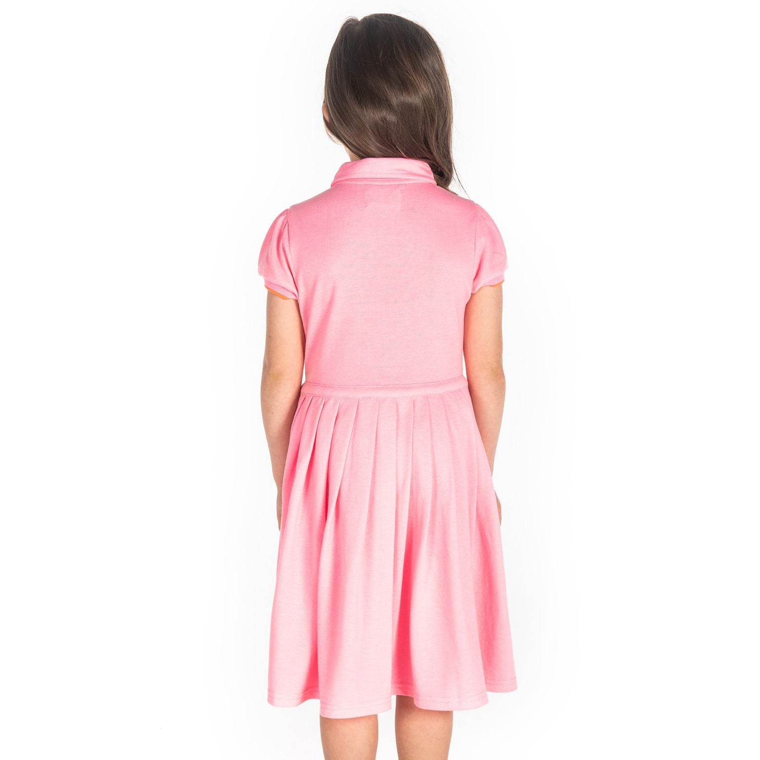 Beads Polo Dress for Girls