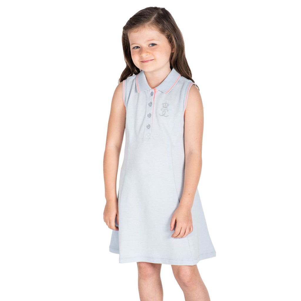 Pastel Polo Dress for Girls