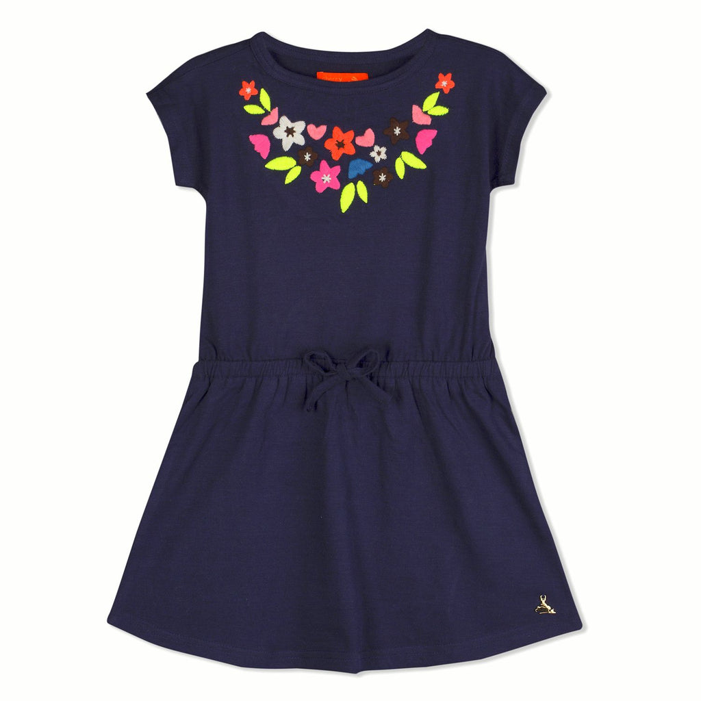 Striking Embroidery Dress for Girls