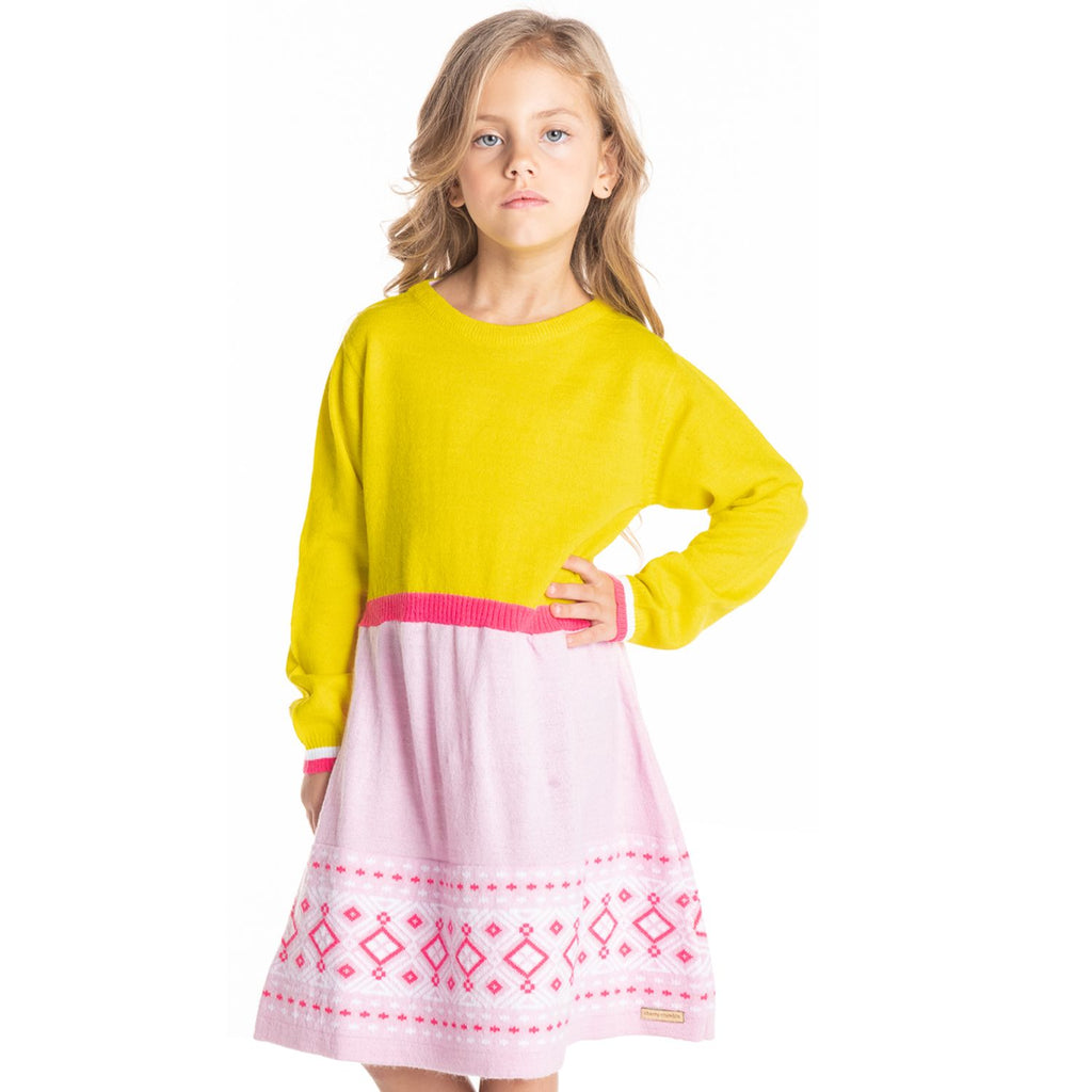 Knitted Dress for Girls