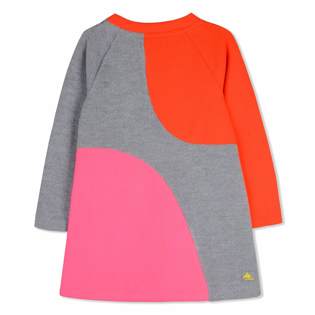Neon Applique Dress for Girls