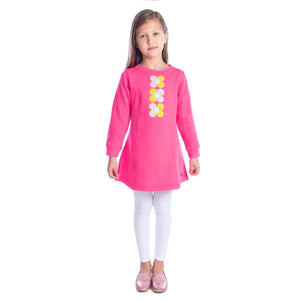 Tricolor Dress for Girls
