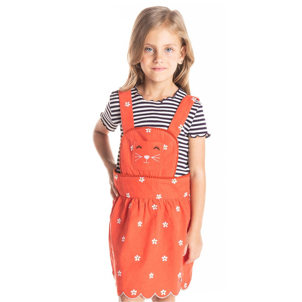 Moustache Dress for Girls