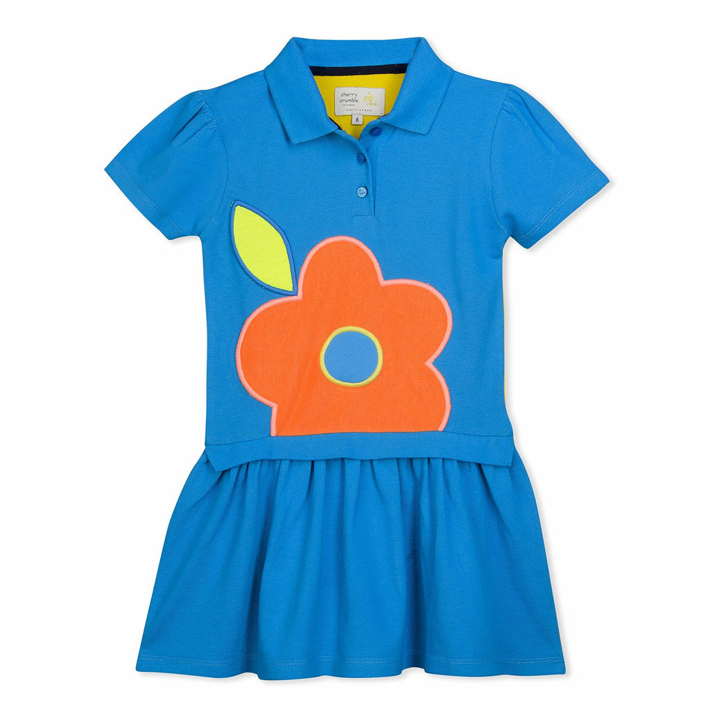 Burgeon Polo Dress for Girls