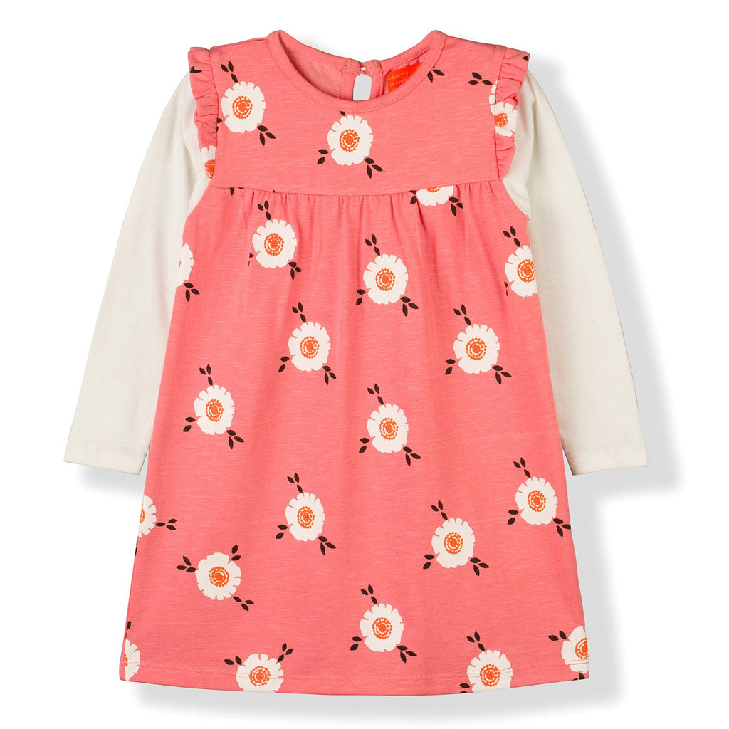 Printed Clever Dress for Girls