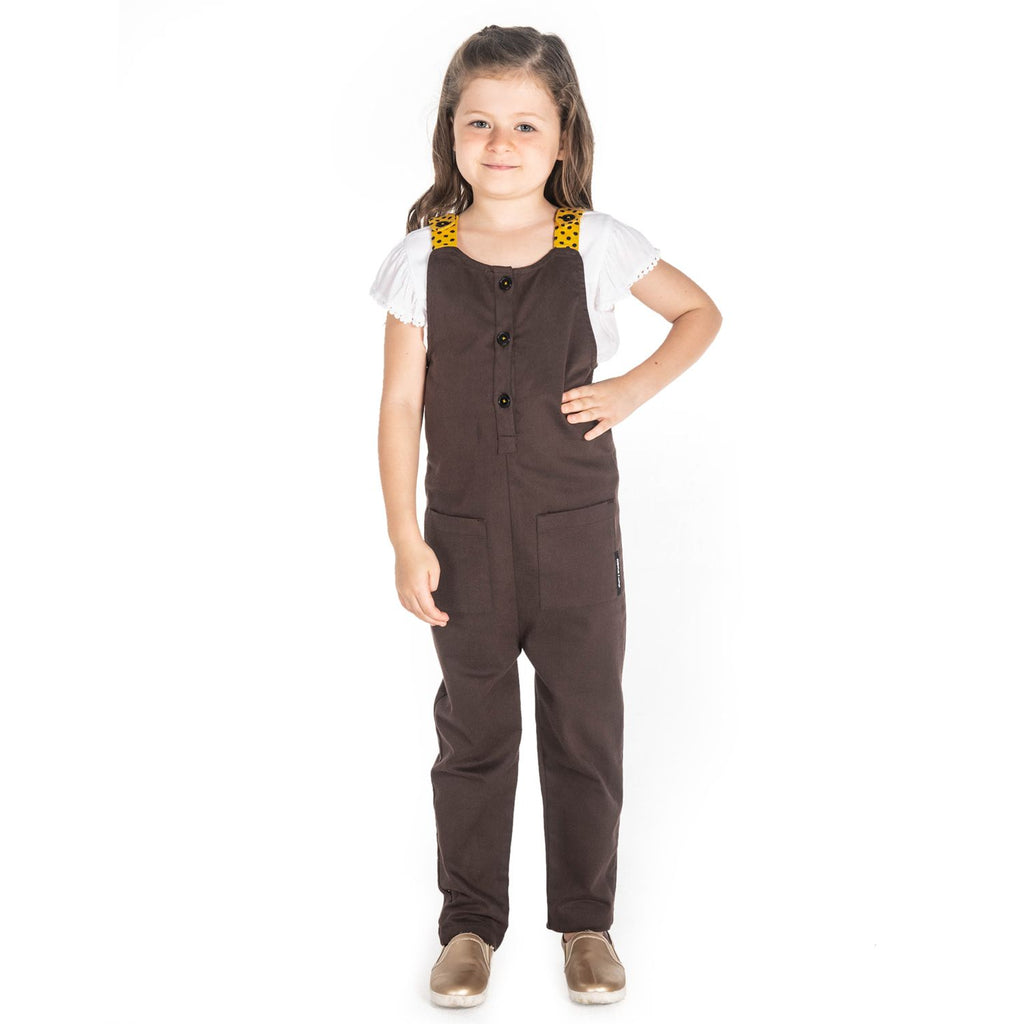 Tiger Dungaree for Girls