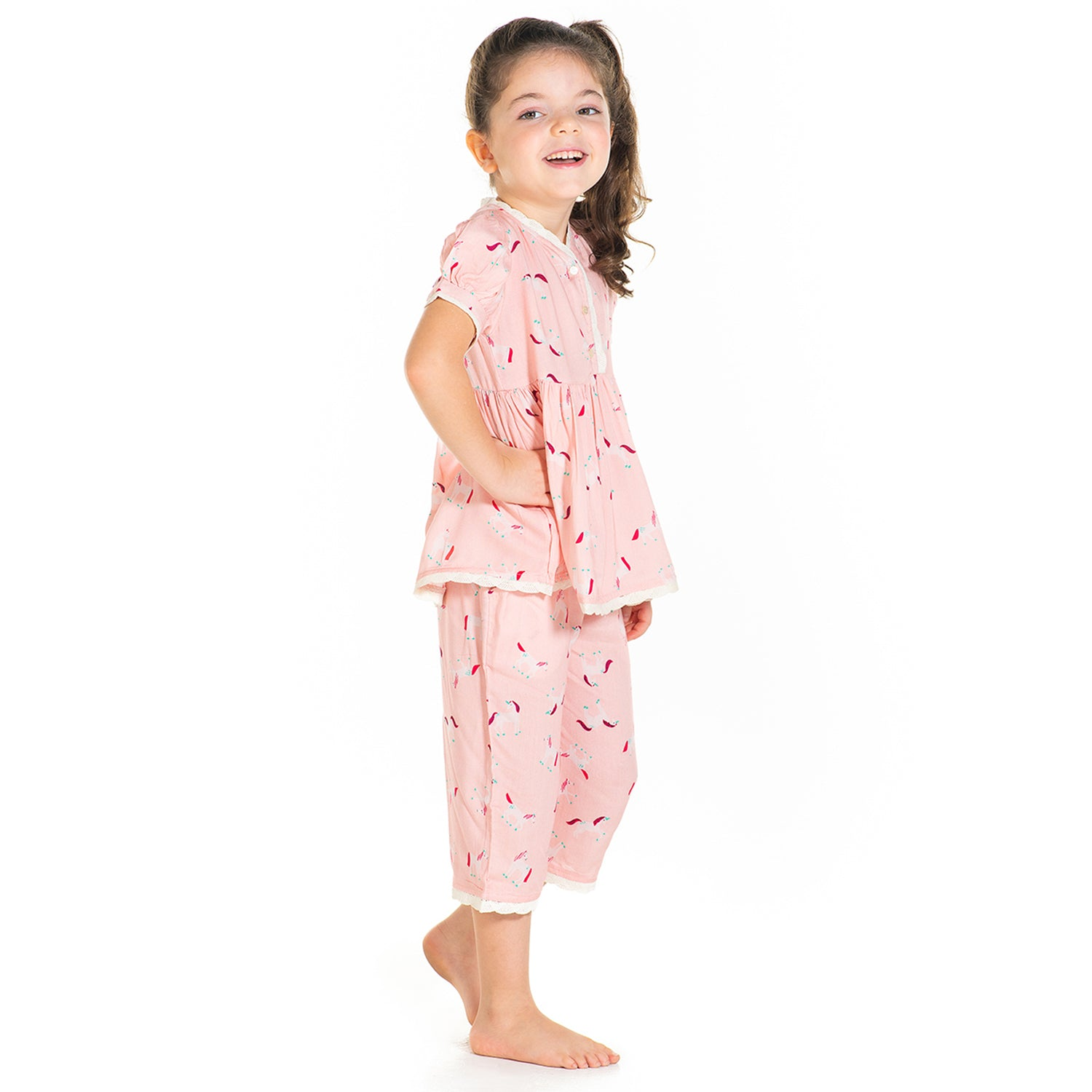 Cherry-Crumble-Unicorn-Print-Nightsuit