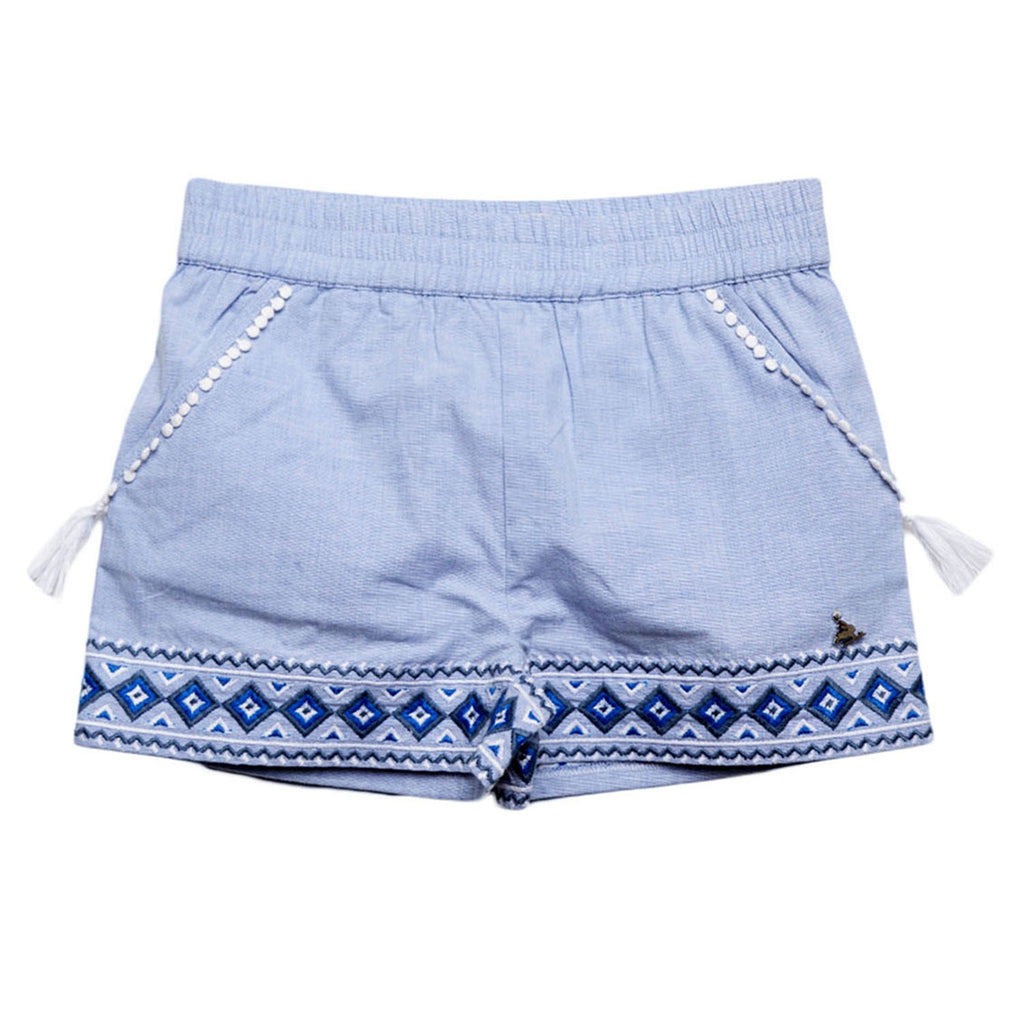 Irish Embroidered Shorts for Boys & Girls