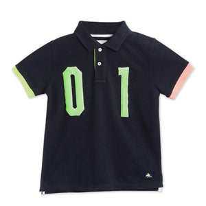 Kids-Numbered-Polo-Tshirt