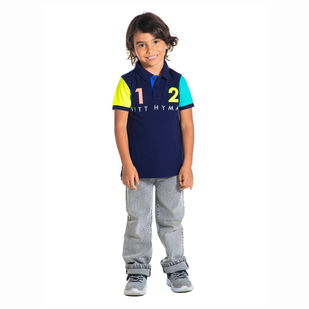 Pima  Applique Polo for Boys & Girls