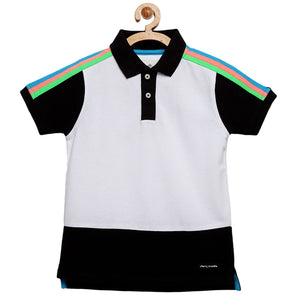 Rainbow Colorblock T Shirt for Boys & Girls