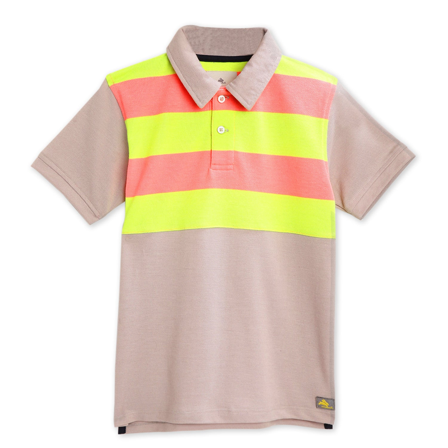 kids-peppery polo tee-ws-hpolo-6155gry