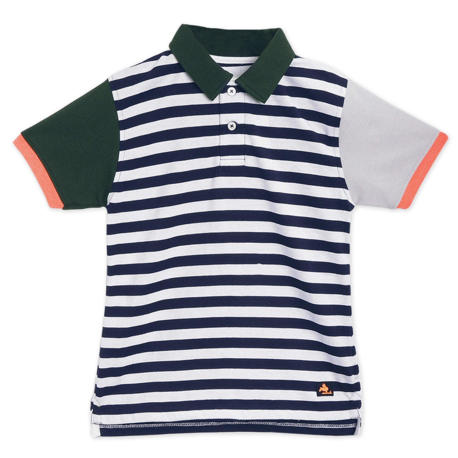 Regular-Striped-Polo-Tshirt
