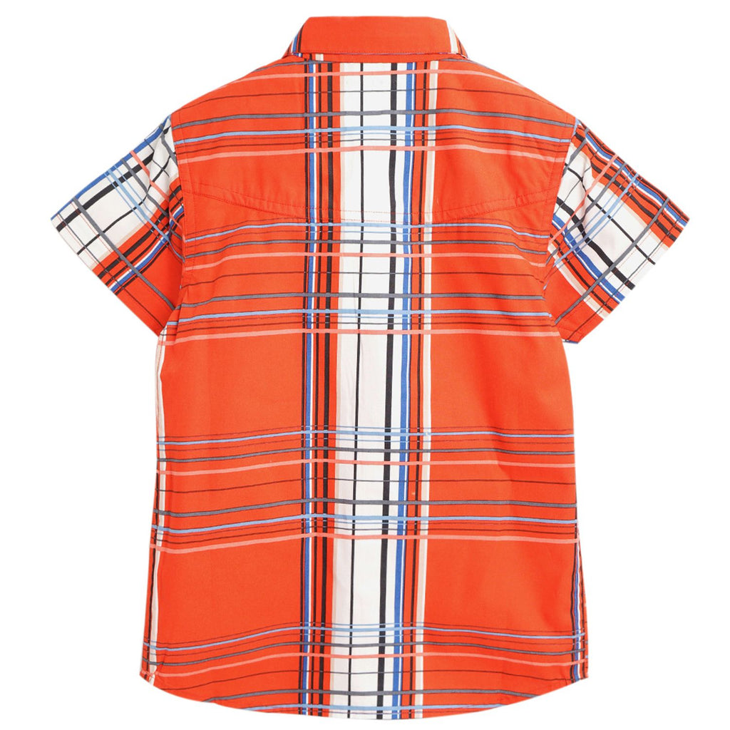 Bright Flannel Shirt for  Boys