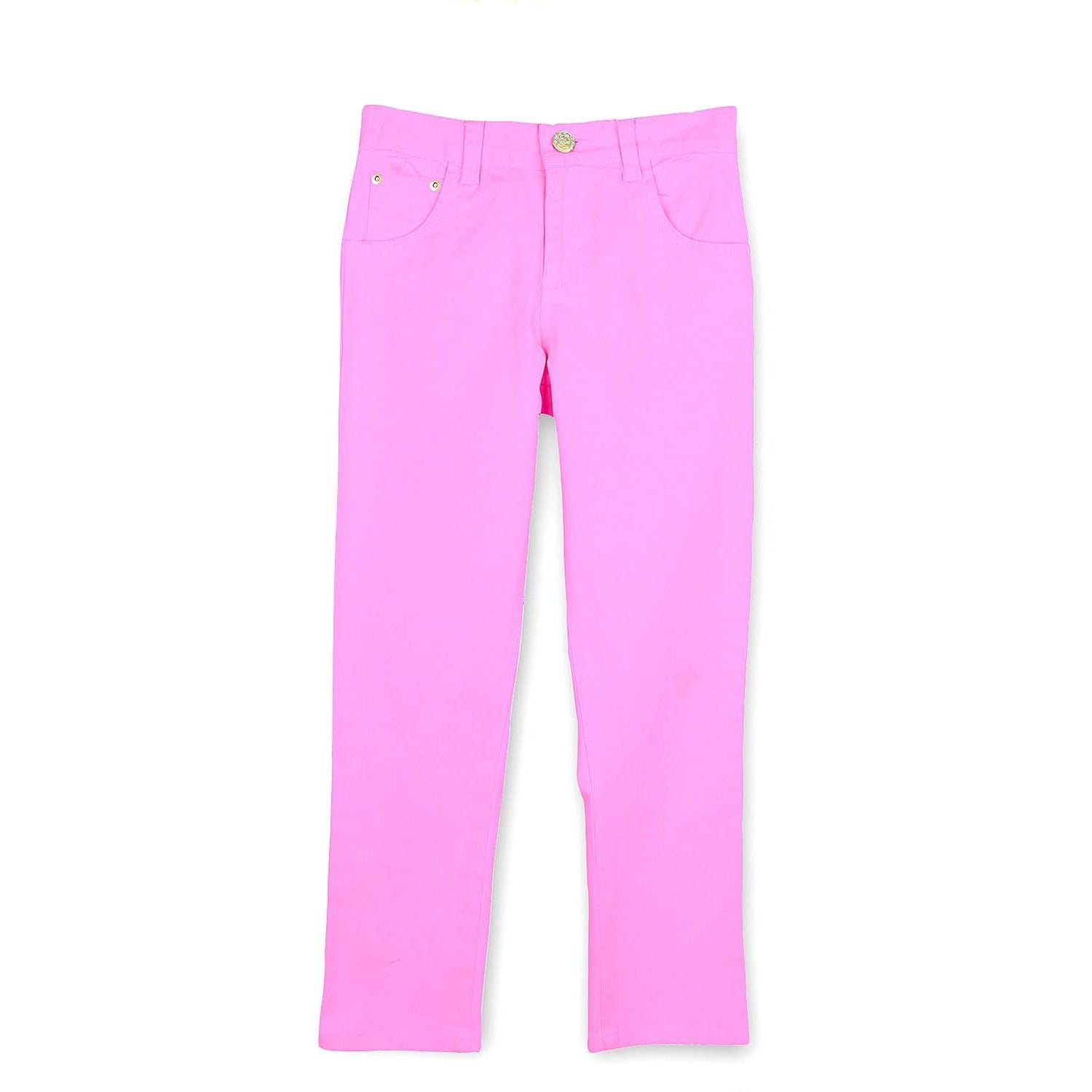 Cotton Twill Trousers for Boys