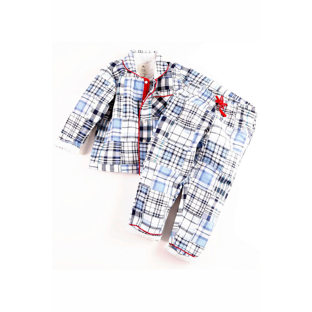 Cotton Comfy Shirt Top N Pyjama Set for Boys