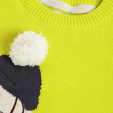 Pom Pom Animal Sweater