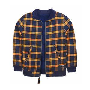 Plaid Reversible Jacket for kids