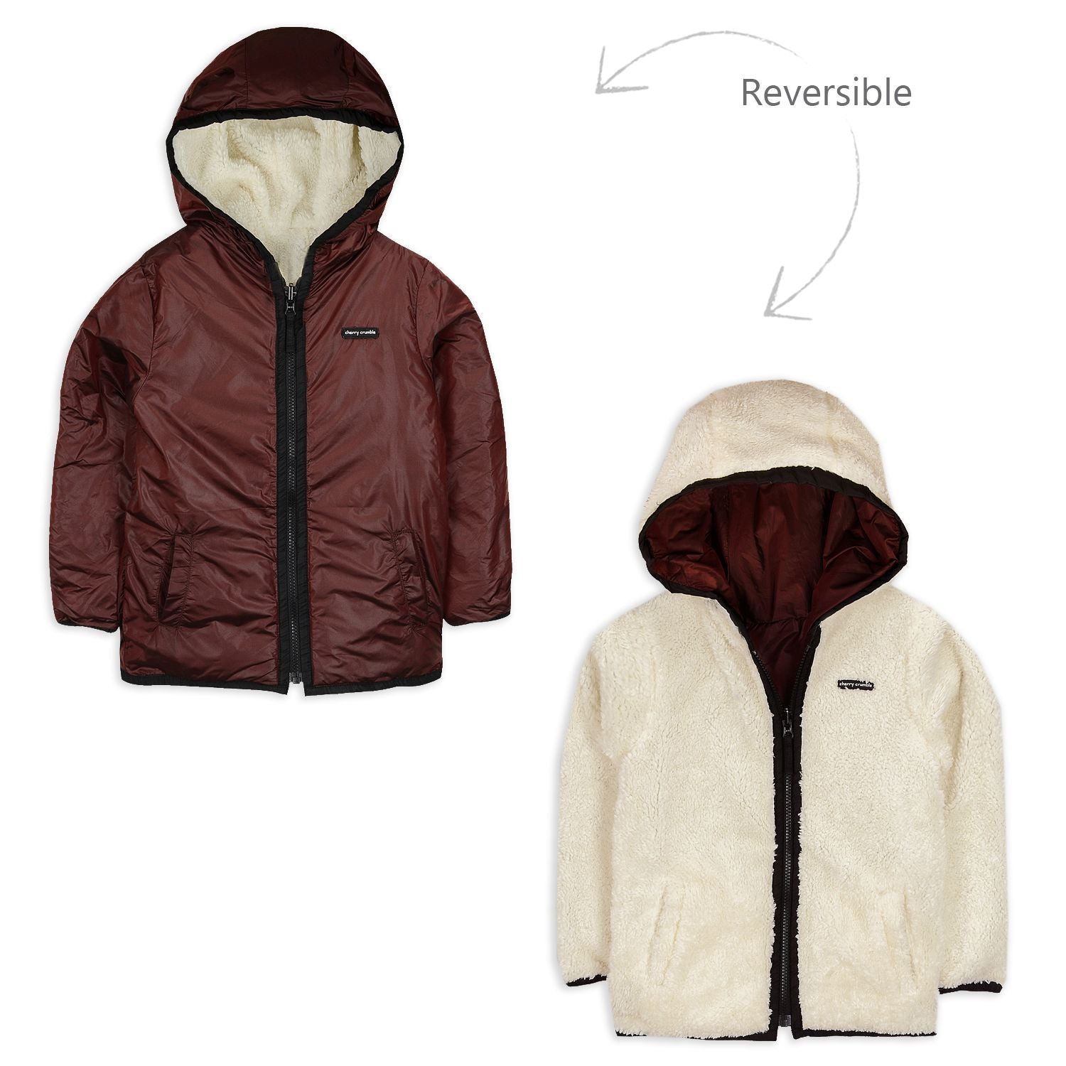 Vineyard Reversible Jacket for kids