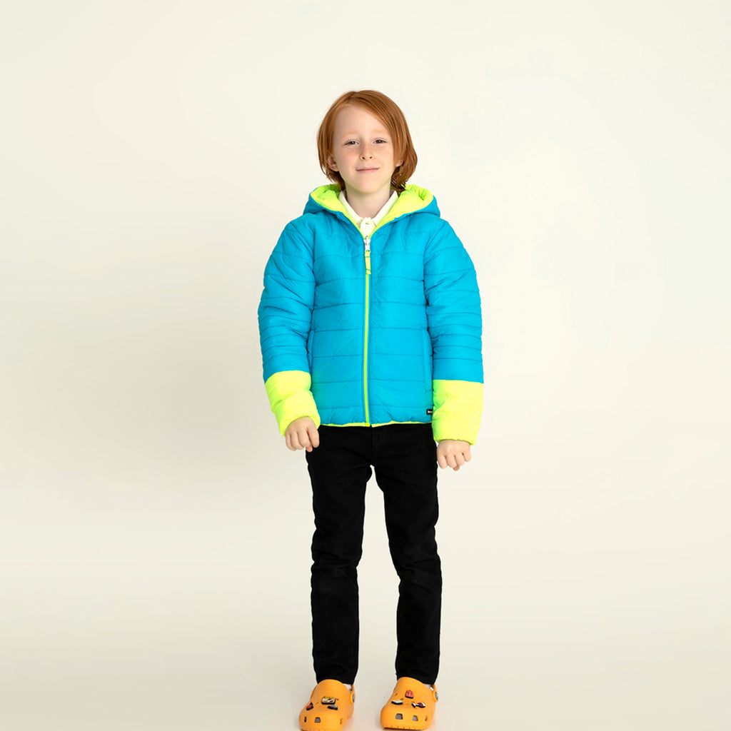 Colourburst Reversible Jacket for kids