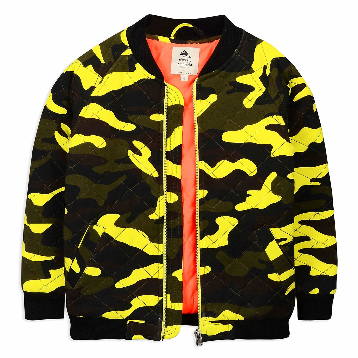 Camouflage Zip Jacket for kids