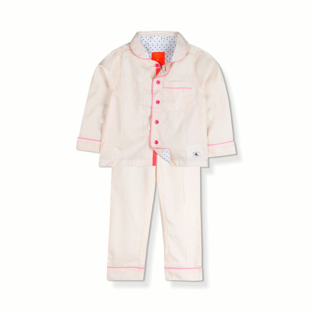 Shimmering Pyjama Set for Girls