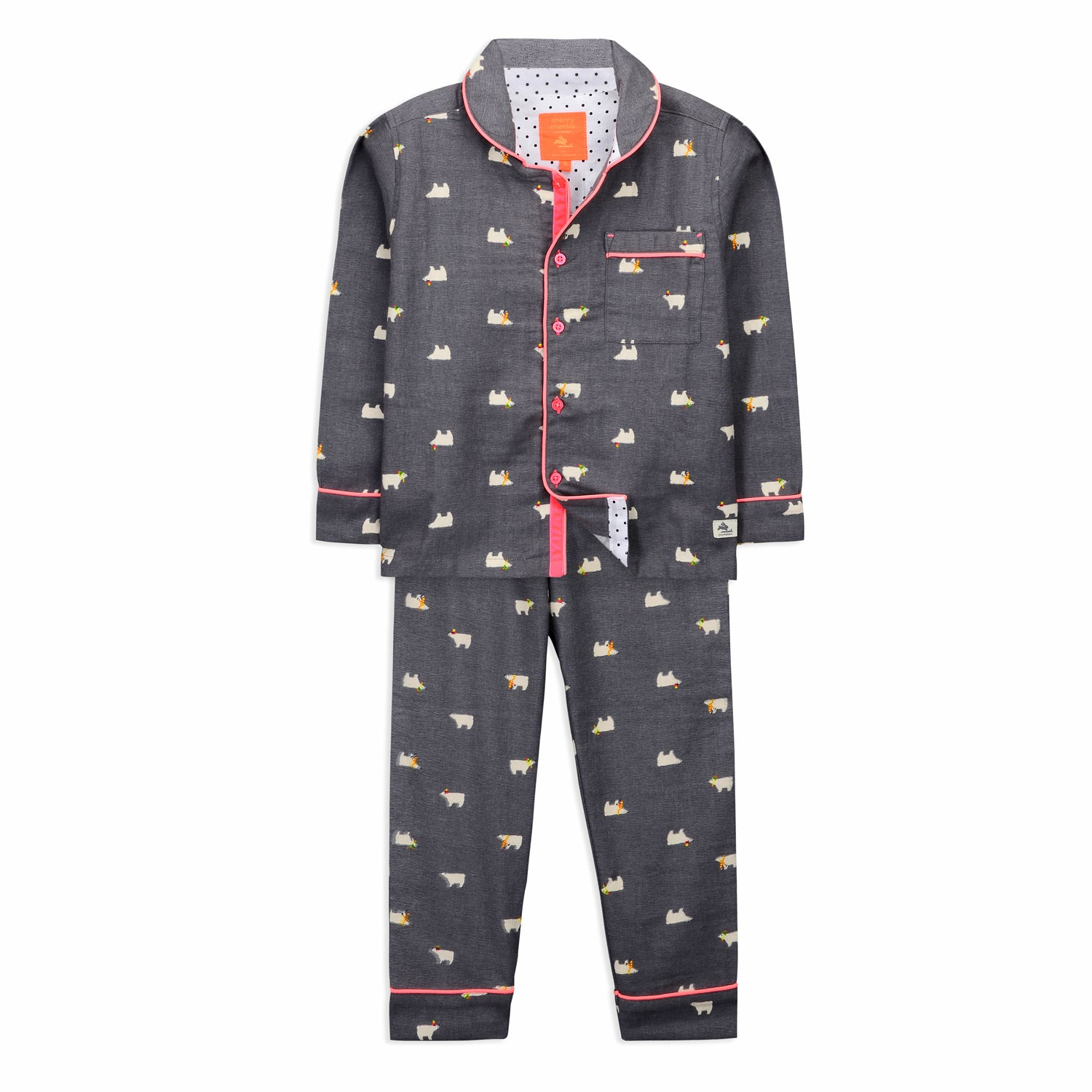 Bear Nightsuit  for Kids