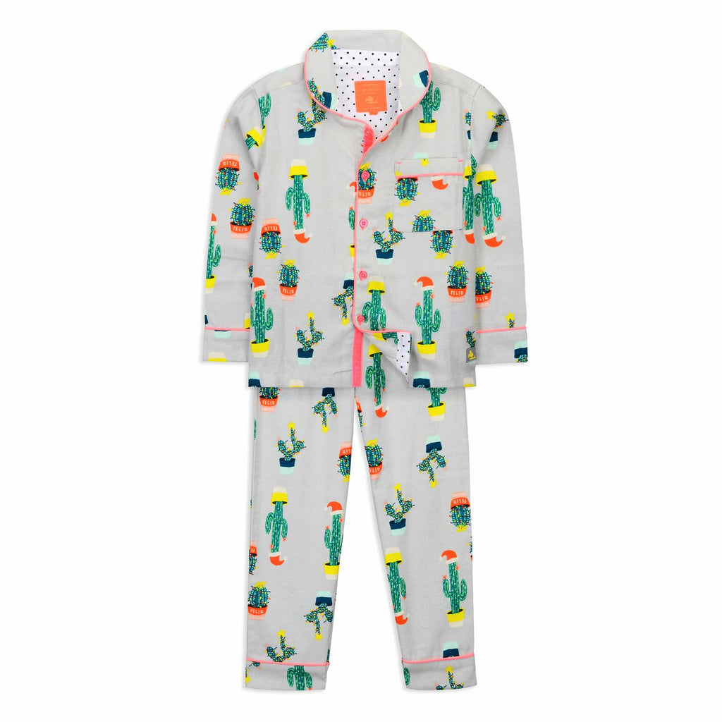 Quirky cactus Nightsuit for kids