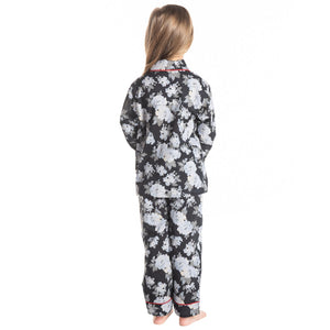 Flower Bed Nightsuit  for Girls