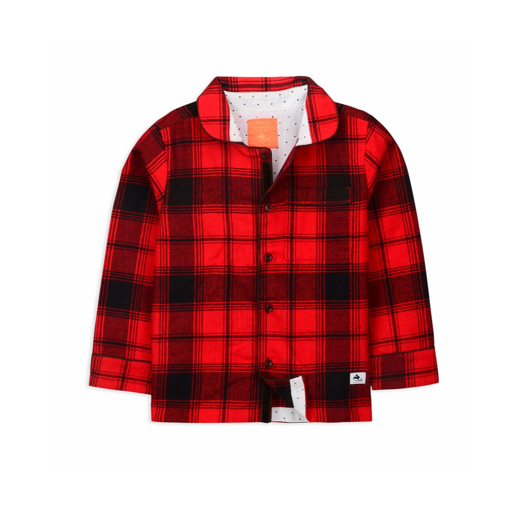 Red Thunder Nightsuit  for kids