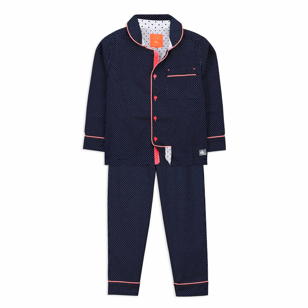 Polka dots Nightsuit for kids